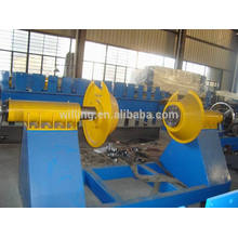 manual uncoiling machine